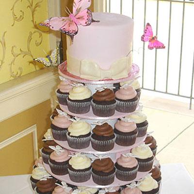 torta de xv años con mariposas