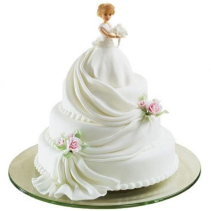 pastel de 15 años con barbie