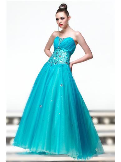 Vestido azul celeste 15 aрів±os