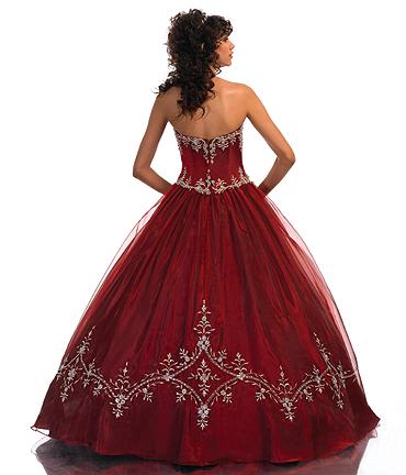 vestidos de 15 aos rojos. Vestido de 15 años Rojo estilo