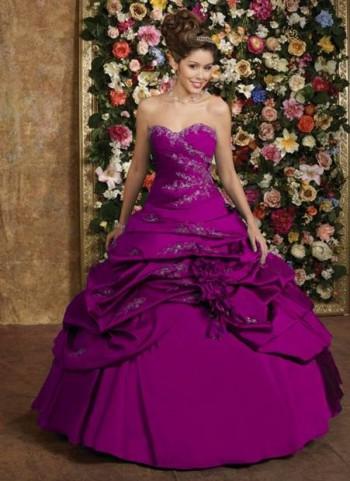 Vestido de 15 años Púrpura