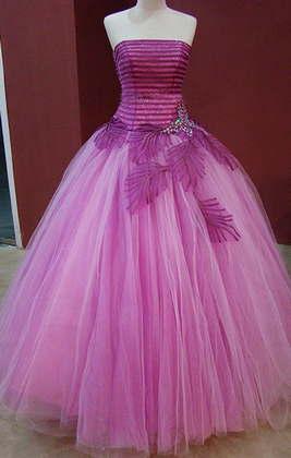 vestido de 15 años moderno