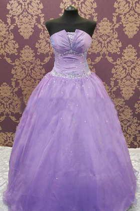 vestido de quinceaños color lila