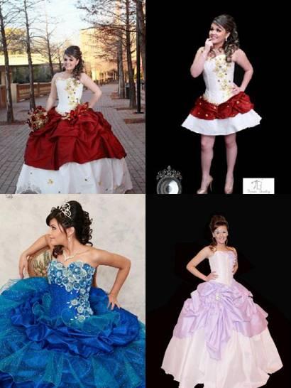 vestidos de 15 años diseños tomas benitez